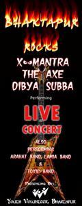 Bhaktapur metal concert