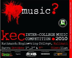 KRYPTOS Performing Live in Nepal At 1st KEC Inter College Music Competition