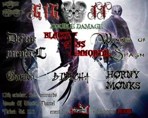 Mortem Presents GIG II supported by KtmRocks