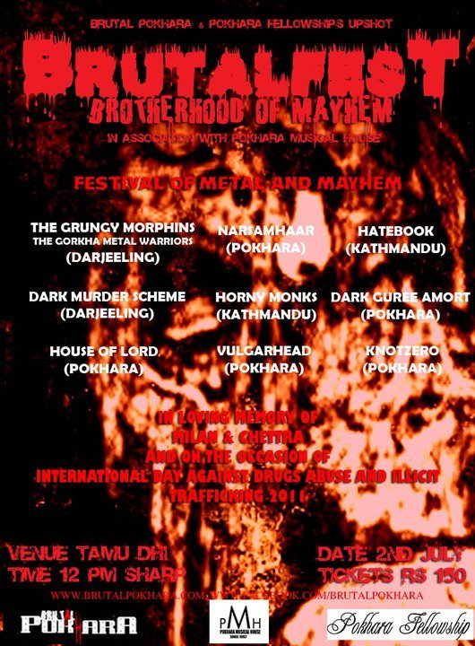 Brutal Pokhara BrutalFest Brotherhood of Mayhem