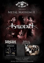 Metal Mayhem II Gig 2011