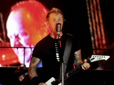 Metallica performance in Bangalore