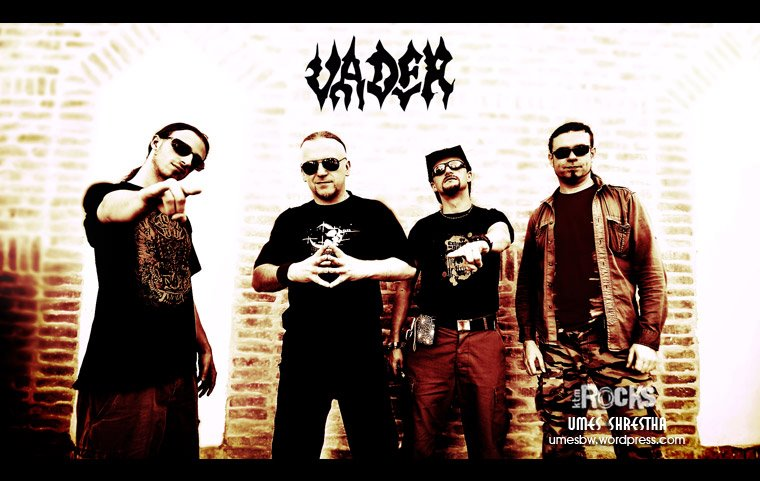 Photo Shoot: Vader Band