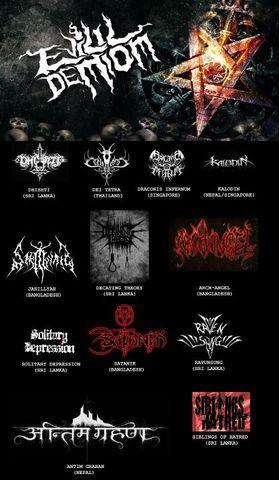 Evilil Demiom -Asian Black Metal Compilation