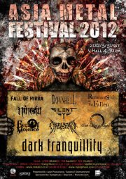 Dark Tranquillity plans tour for Asian Metal Festival 2012