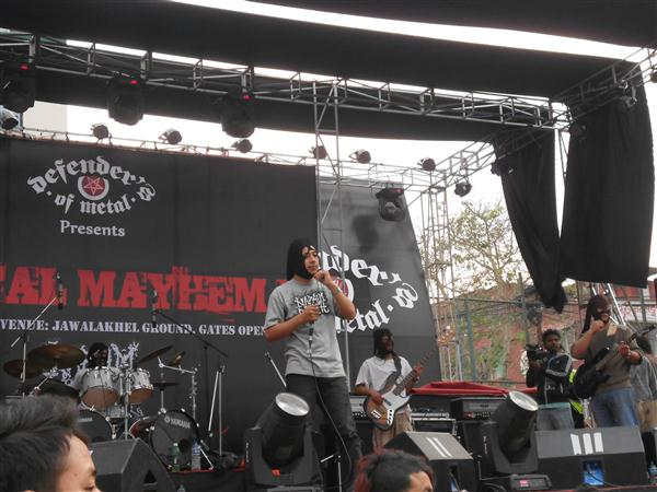Binaash Band Nepal at Metal Mayhem IV (Videos)