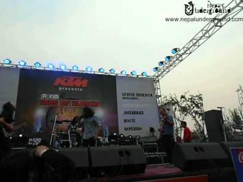 white nepali band