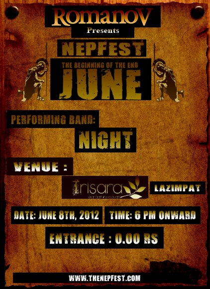 Nepfest The Beginning Of The End June