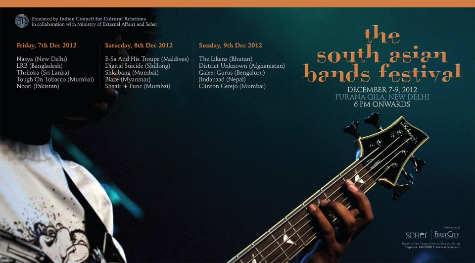south asia band festival final lineup