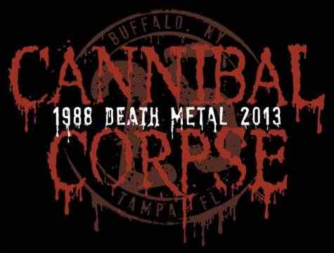 Cannibal Corpse 25 years Birthday Logo
