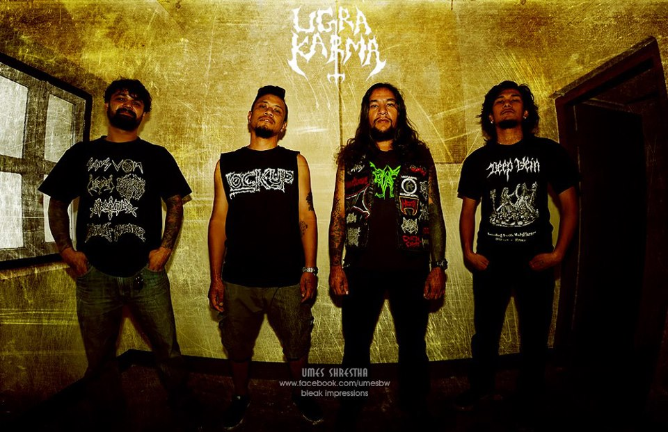 Ugrakarm Band Nepal( Death Metal)