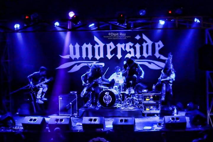 underside band photo