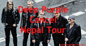 Deep Purple Cancel Nepal Tour 2013
