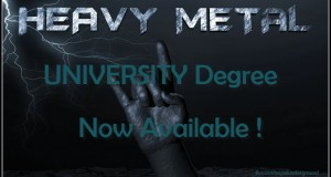 Heavy Metal University UK, Nottingham Trent University Now Available !