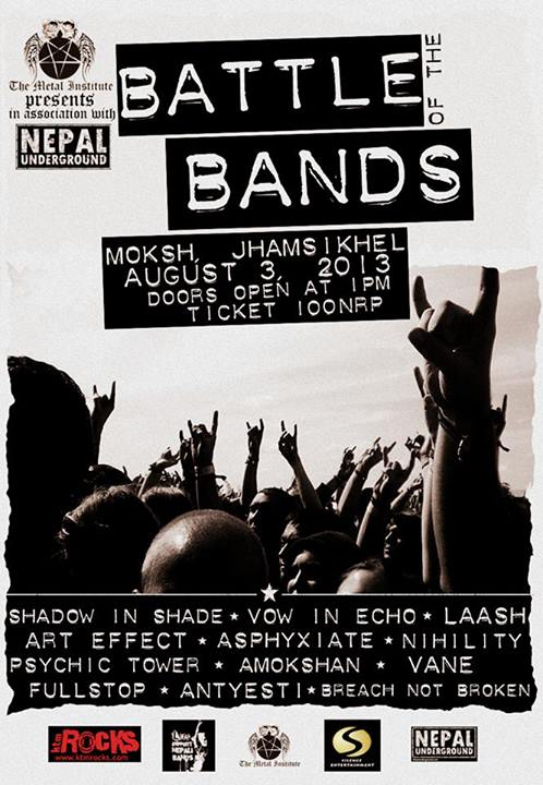 battle of the bands nepal 2013