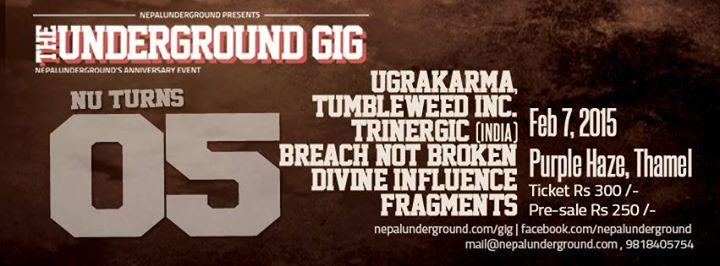 the underground gig