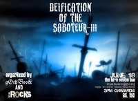 Deification of the Saboteur