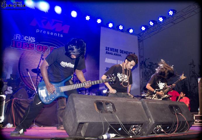 severe demantia band bangladesh -ktmrocks ides of march 2012
