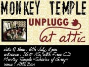 Monkey Temple Unplugged Attic Bar
